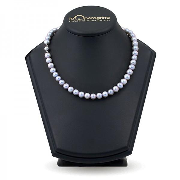 Ожерелье из жемчуга цвета металик
