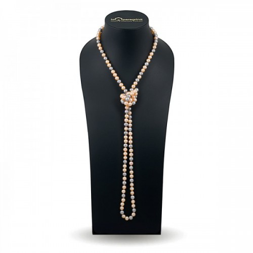 Ожерелье из жемчуга мультиколор