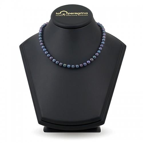 Ожерелье из жемчуга черного цвета
