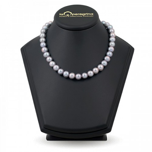 Ожерелье из жемчуга цвета металлик