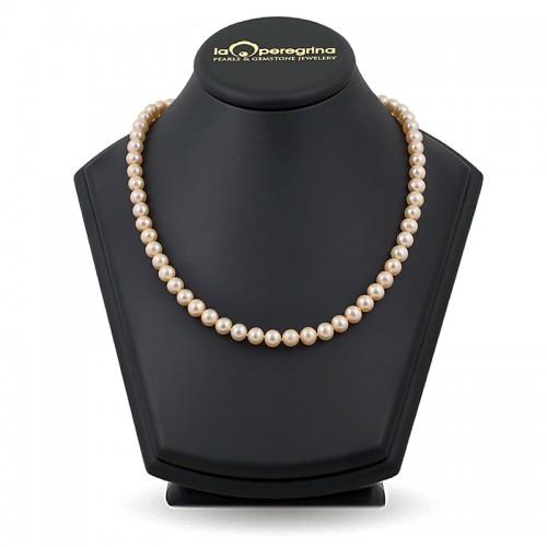 Ожерелье из жемчуга розового цвета