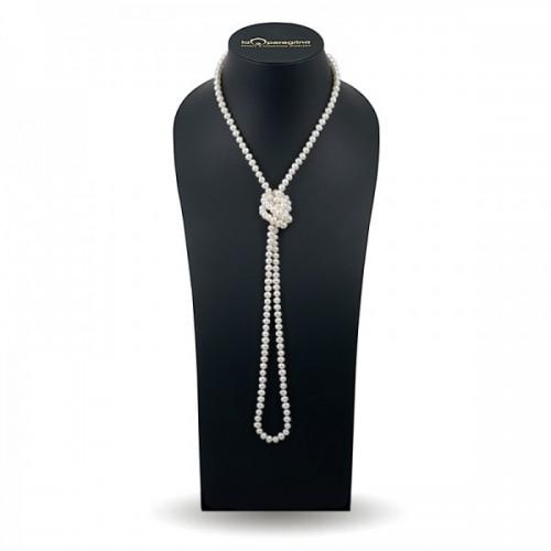 Ожерелье из жемчуга белого цвета
