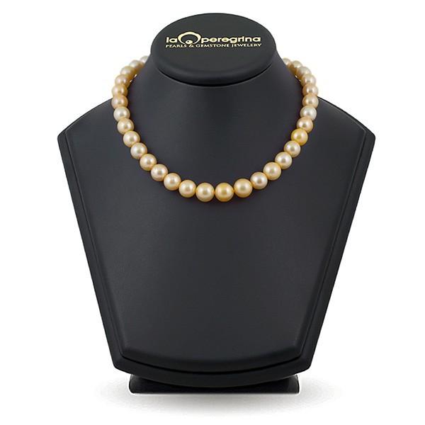 Ожерелье из жемчуга южных морей золотого цвета