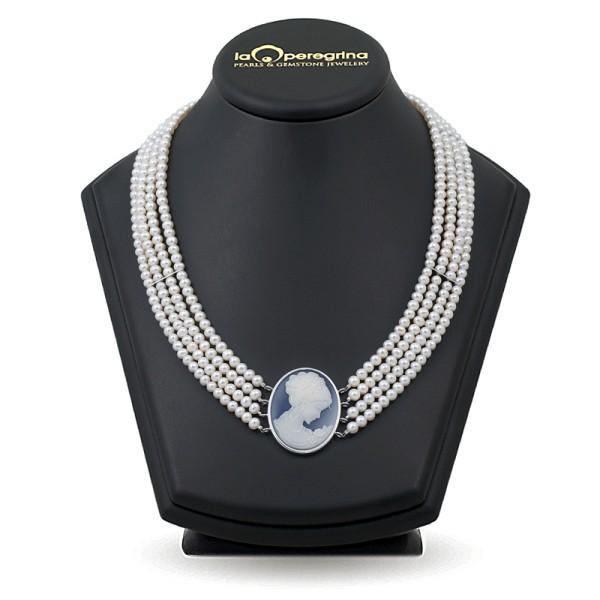 Ожерелье из жемчуга с Камеей