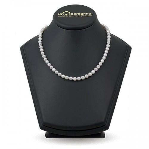 Ожерелье из натурального морского жемчуга Акоя